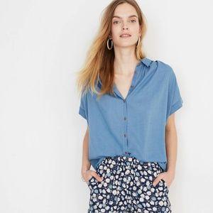 Madewell Central Shirt - Bright Indigo